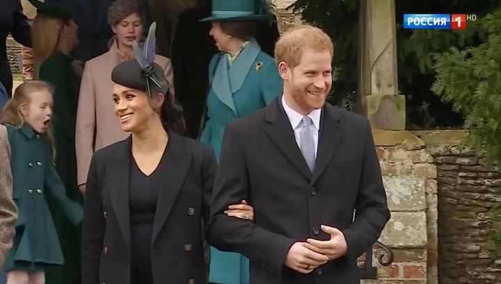 """Принц Гарри и Меган Маркл весной перестанут быть """"Высочествами"""""""