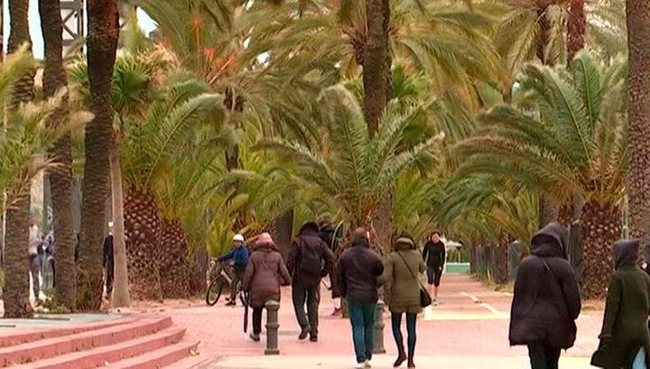 Число жертв шторма в Испании увеличилось до четырех