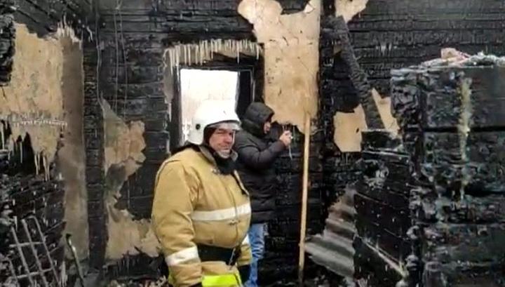 При пожаре в томском селе погибли 10 граждан Узбекистана