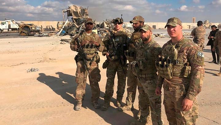 При атаке на базы в Ираке пострадали больше 11 солдат армии США