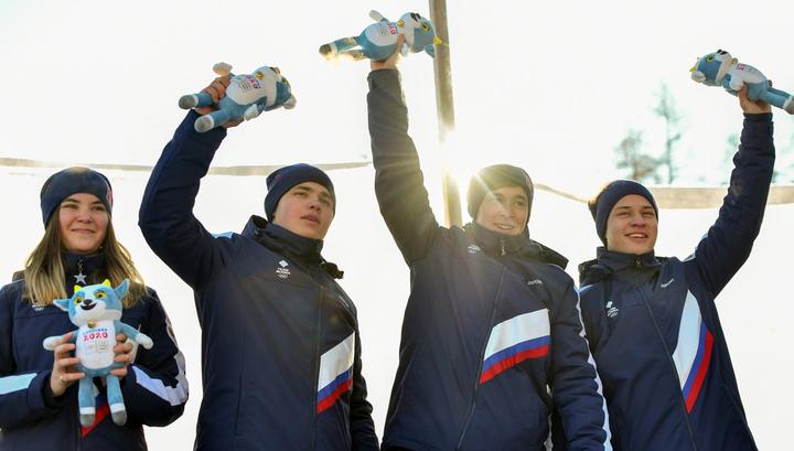 Сборная России впервые выиграла медальный зачет юношеской Олимпиады