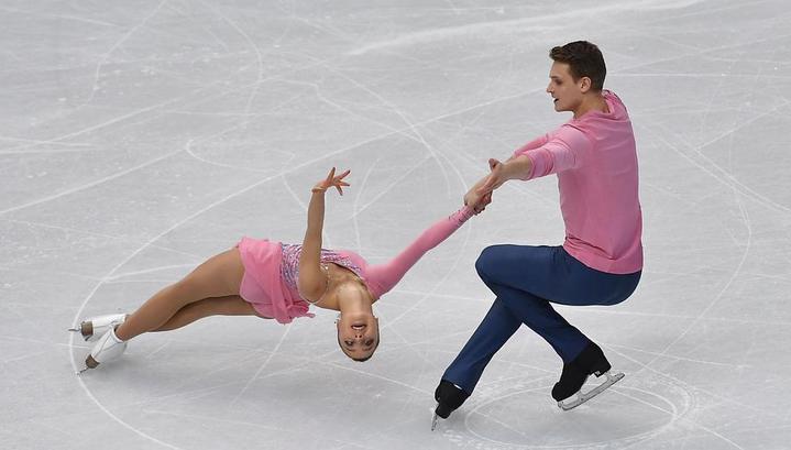 Бойкова и Козловский с рекордом мира выиграли короткую программу на чемпионате Европы