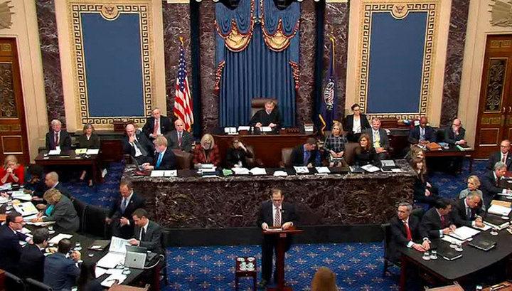 В сенате США демократы приводят аргументы за отстранение президента Трампа от власти