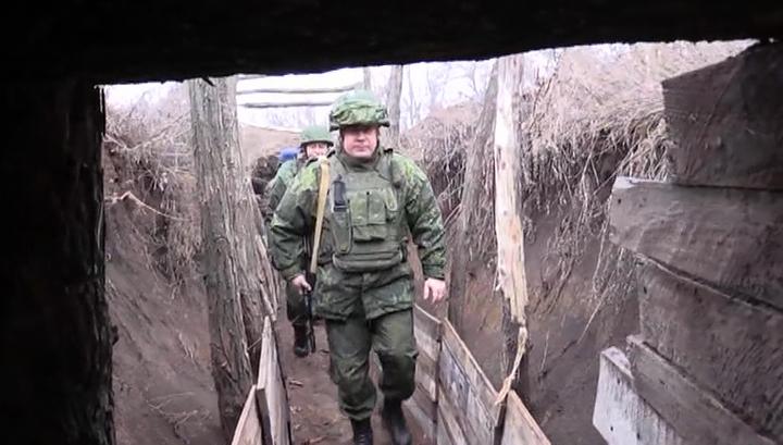 Донбасс: ситуация на линии соприкосновения