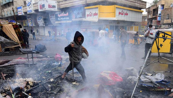 Стрельба по иракским протестующим: есть убитые и раненые
