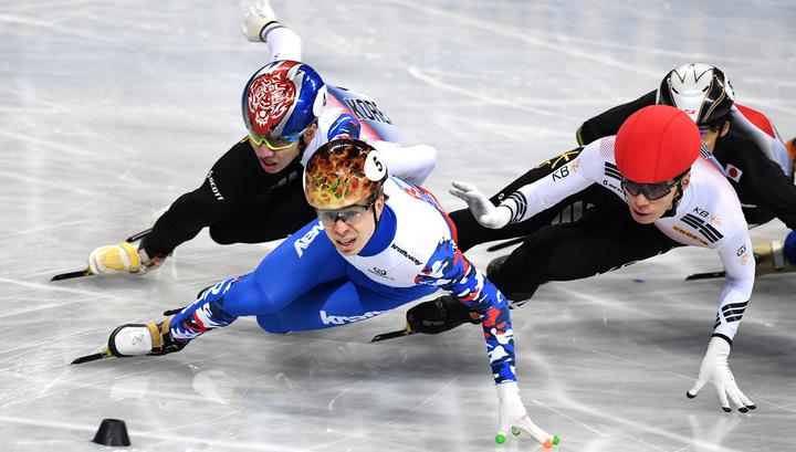 Шорт-трек. Семен Елистратов выиграл бронзу чемпионата Европы