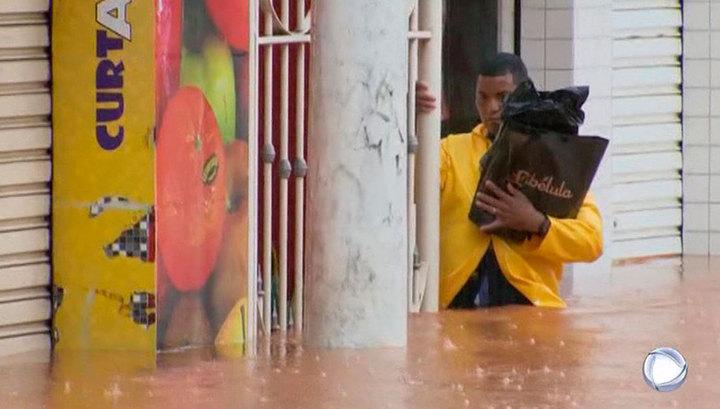 В Бразилии число погибших в результате паводков увеличилось до 57 человек