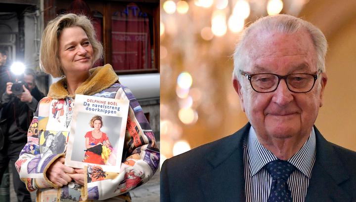 Бывший король Бельгии признал внебрачную дочь