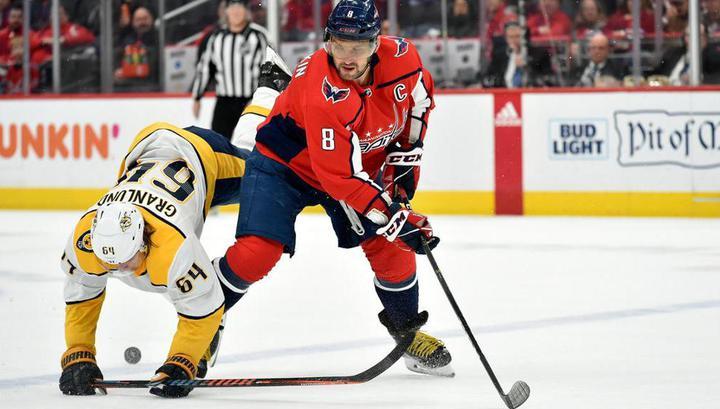 Александр Овечкин забросил семисотую шайбу в НХЛ