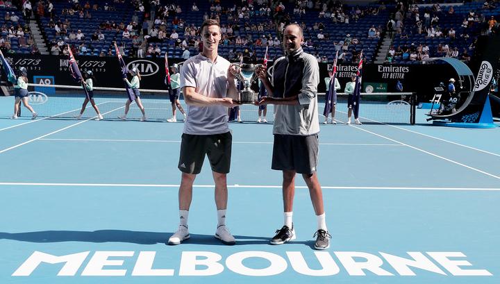 Australian Open. Рам и Солсбери выиграли соревнования в парном разряде