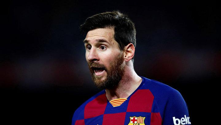 """""""Вы запачкаете всех"""". Месси поругался со спортивным директором """"Барселоны"""""""