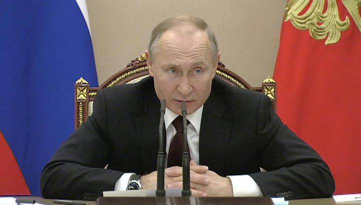 Путин: у нового правительства нет ни минуты на раскачку