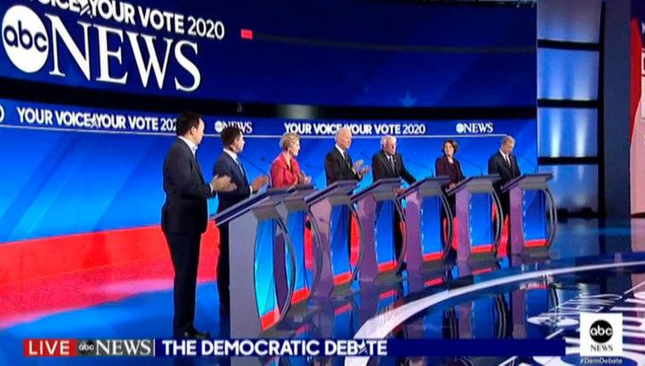 Дебаты в США: демократы согласились, что их общая цель - одолеть Трампа