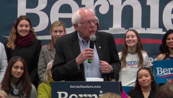 Берни Сандерс уходит вперед в предвыборной гонке от демократов