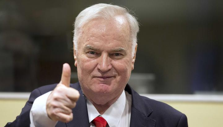 В Гаагском трибунале опровергли слухи о смерти Ратко Младича