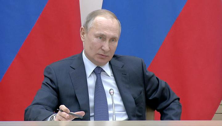 Путин: всенародное голосование пройдет в рабочий день, который объявят выходным