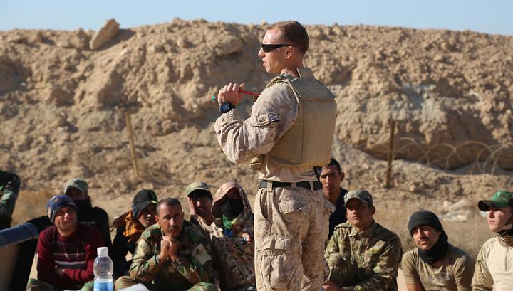 По базе США в Ираке нанесен ракетный удар