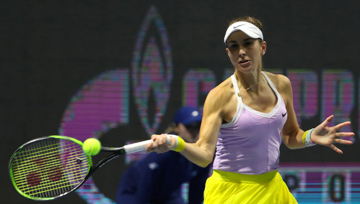 Гречанка Мария Саккари – полуфиналистка теннисного турнира в Санкт-Петербурге
