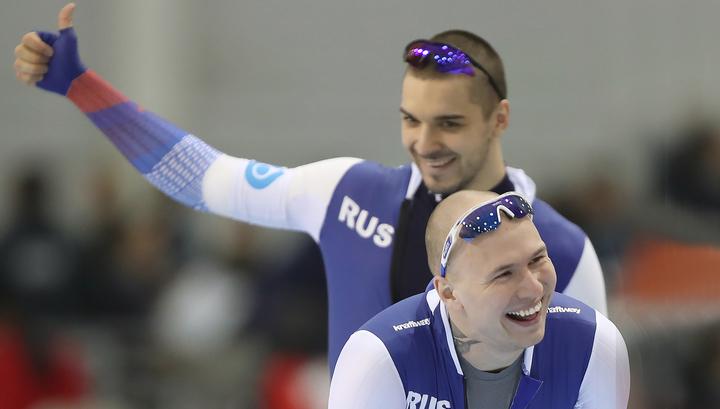 Конькобежец Павел Кулижников стал чемпионом мира в спринте - ElkNews.ru