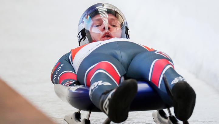 Саночник Репилов оформил золотой дубль на чемпионате мира в Сочи