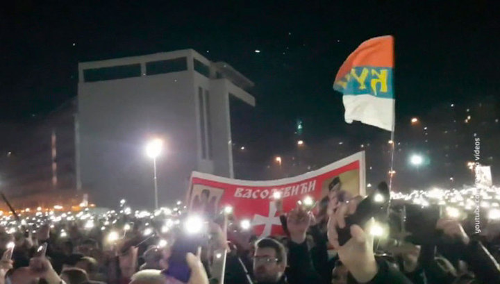 В столице Черногории более 60 тысяч верующих приняли участие в акциях протеста