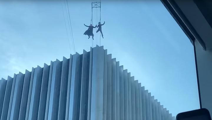 Полет Нео из «Матрицы» заметили в Сан-Франциско