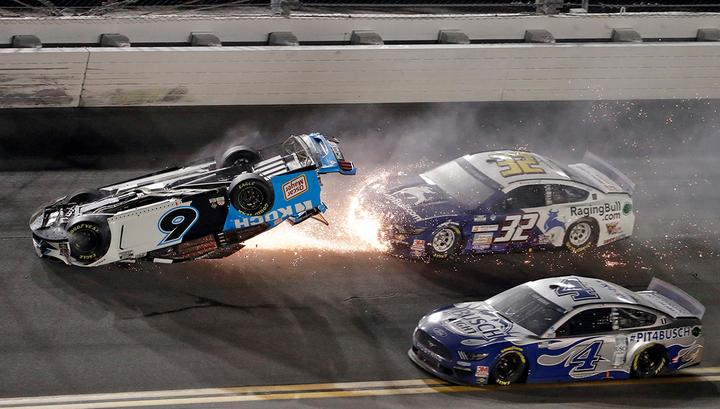 Автогонки серии NASCAR омрачены страшной аварией