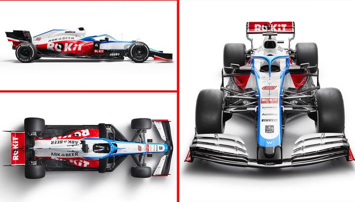 Формула-1. Команда Williams представила новый болид