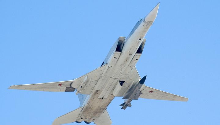Российские дальние бомбардировщики пролетели над Черным морем