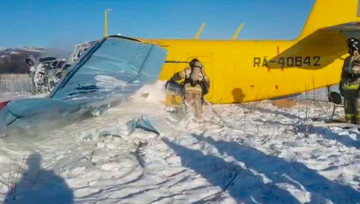 По факту жесткой посадки самолета Ан-2 в Магадане заведено уголовное дело