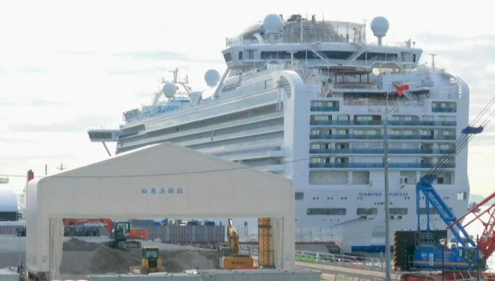 Умерли два пассажира лайнера Diamond Princess