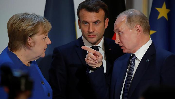 Меркель и Макрон готовы провести встречу с Эрдоганом по Идлибу
