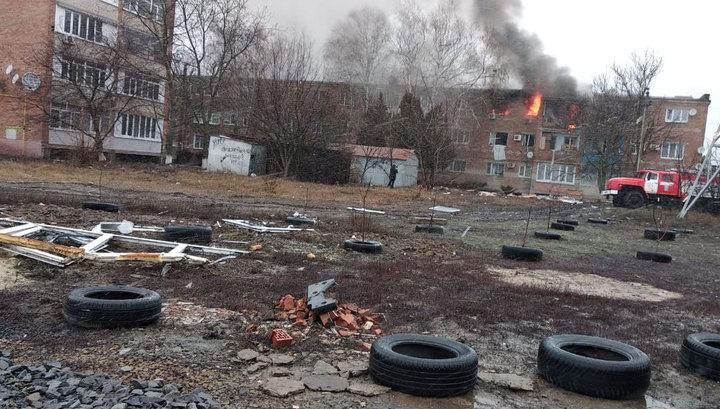 В Азове при взрыве газа в доме погибли 2 человека