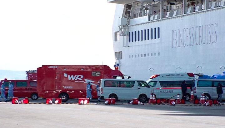 Восемь россиян вернулись с круизного лайнера Diamond Princess на родину