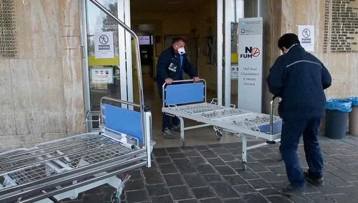 Коронавирус в Италии: два человека скончались, около 70 - заражены
