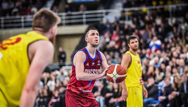 Сборная России обыграла команду Северной Македонии в квалификации Евробаскета