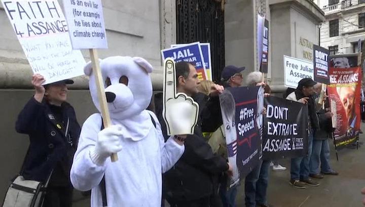 В Лондоне приступают к рассмотрению дела Джулиана Ассанжа