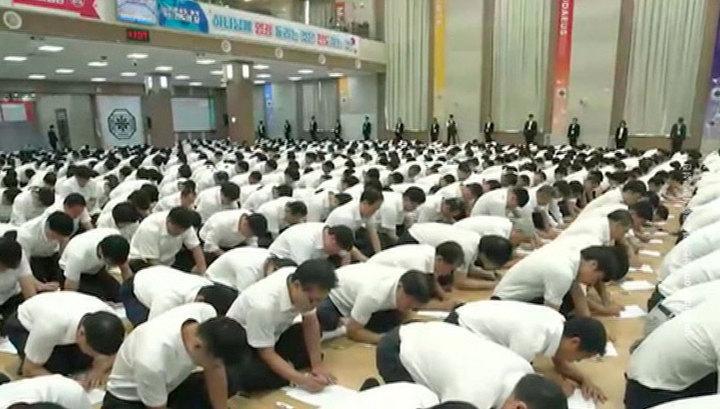 В Южной Корее требуют закрытия христианской секты, ставшей рассадником коронавируса