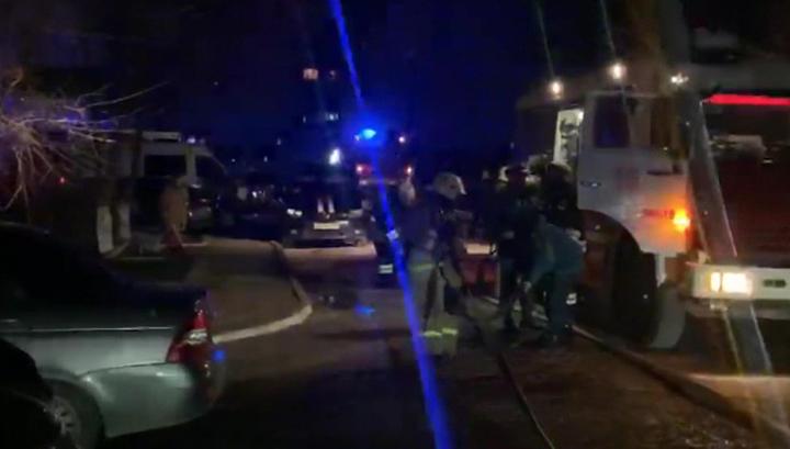 Пострадавший от хлопка газа дом в Элисте обследуют с помощью специального оборудования