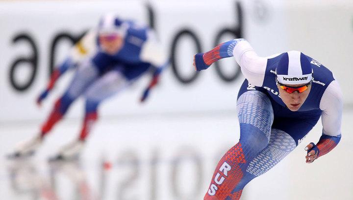 Конькобежка Голикова завоевала бронзу чемпионата мира