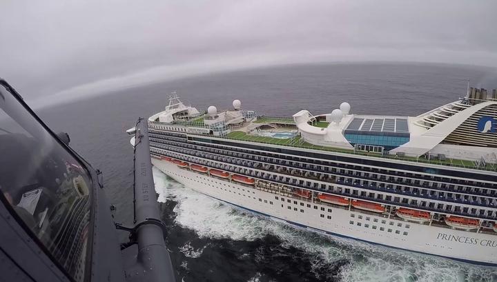 Коронавирус обнаружен у 21 человека с круизного лайнера Grand Princess