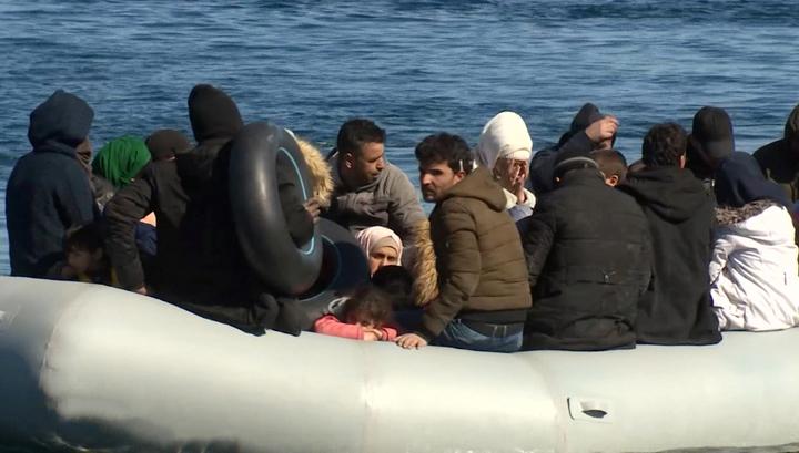 Турция запретила беженцам переправу через Эгейское море