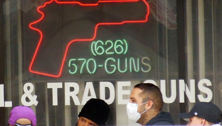 В США взлетели продажи оружия