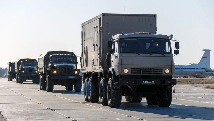 600-километровый марш: колонна российской спецтехники выдвинулась из Рима в Бергамо