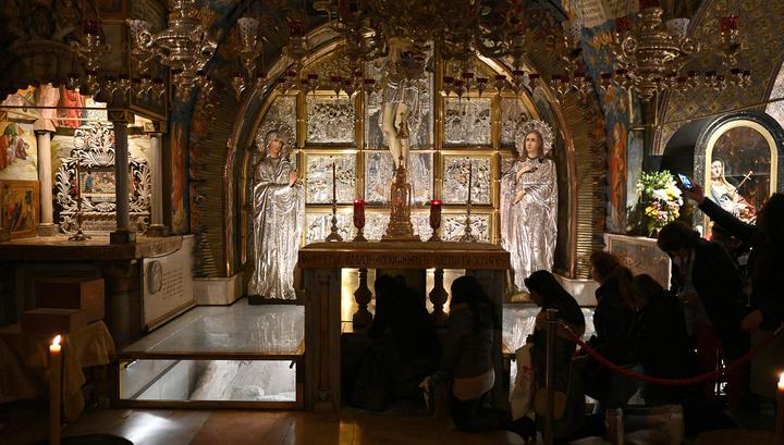 В Иерусалиме закрыт для посещений Храм Гроба Господня