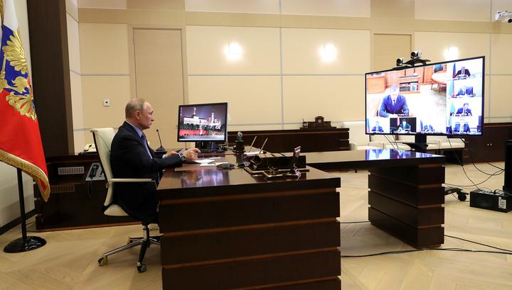 COVID-19. Все поручения Путина на совещании с полпредами