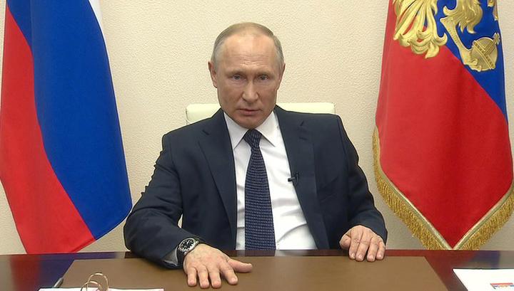 Путин: нерабочее время продлевается до 30 апреля
