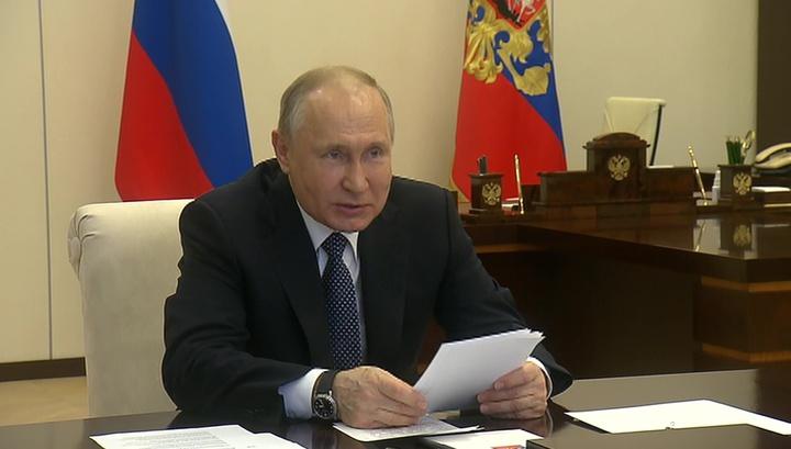 Путин спросил у вирусологов, можно ли сократить количество нерабочих дней