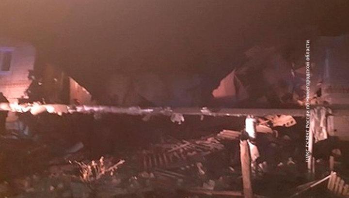 Взрыв бытового газа произошел в жилом доме под Нижним Новгородом