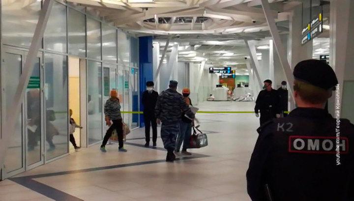 В Новосибирске приземлился рейс с российскими туристами из Таиланда